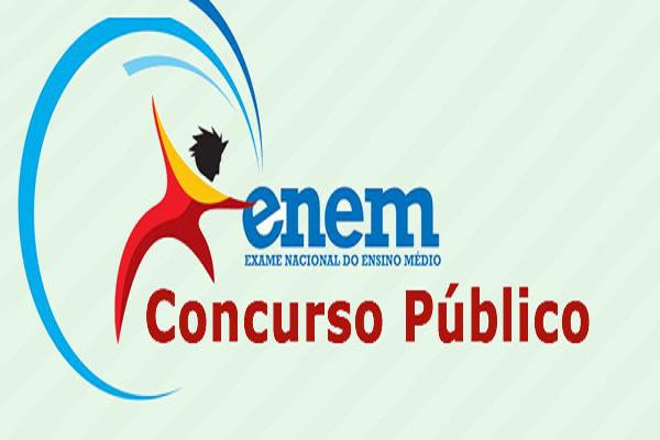 enem e concurso publico - Concursos Públicos já começam a utilizar notas do Enem